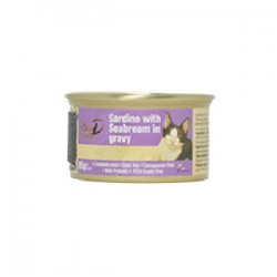 Gold-D - 沙甸魚+鯛魚濃湯 (紫)  85g
