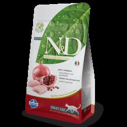 Natural & Delicious 石榴加雞成貓配方乾糧10kg