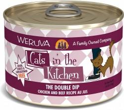 Weruva Cats in the Kitchen 罐裝 The Double Dip 走地雞+牛肉 美味肉汁 170g