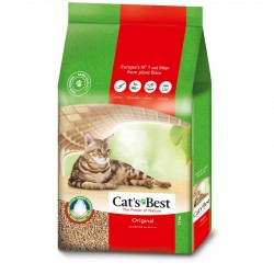 Cat's Best凝結木屑砂(紅標)40L x3包優惠