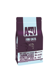 AATU 80/20/0 無穀物 野生三文魚低敏天然貓糧 3kg