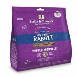 Stella & Chewy's 凍乾脫水貓糧 Freeze Dried ABSOLUTLY RABBIT Dinner - 極度兔惑(兔肉配方) 18oz