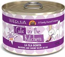 Weruva Cats in the Kitchen 罐裝 La Isla Bonita 鯖魚+蝦 美味肉汁 170g