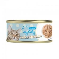 Be My Baby 吞拿魚+白飯魚 Tuna & Whitebait 貓罐頭 85g