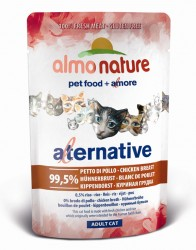 Almo Nature Alternative 雞胸肉 濕貓糧 55g
