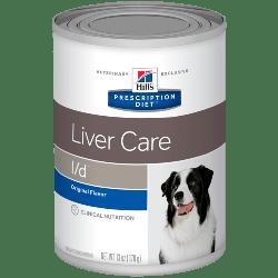 [凡購買處方用品, 訂單滿$500或以上可享免費送貨]  Hill's l/d 肝臟護理 處方狗罐頭 13oz x12罐 原箱優惠