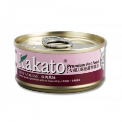 Kakato 卡格 牛肉慕絲 Beef Mousse 70g