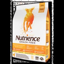 Nutrience 火雞、雞、鯡魚 無穀物全狗乾糧 2.5Kg x2包優惠