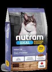 Nutram I17 室內控制掉毛配方 貓糧 1.13kg