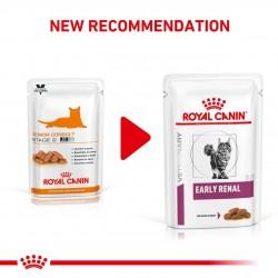 [凡購買處方用品, 訂單滿$500或以上可享免費送貨]  Royal Canin - Early Renal 早期腎病 處方貓濕包 85g x 12包
