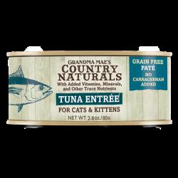 Country Naturals 無穀物深海吞拿魚肉泥配方 貓罐頭 2.8oz