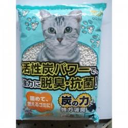 <<穿袋>>  QQ Kit 活性炭紙貓砂 8L