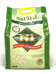 N1 豆腐貓砂17.5L (咖啡味) x3包優惠 (共一箱)