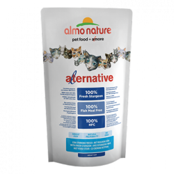 Almo Nature Alternative 新鮮鱘龍魚 成貓糧 750g