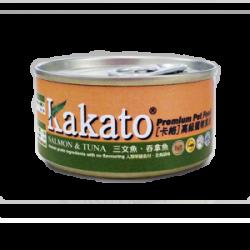 Kakato 卡格 三文魚+吞拿魚170g