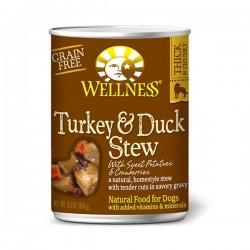 Stew 紅莓火雞鴨肉 12.5oz Wellness