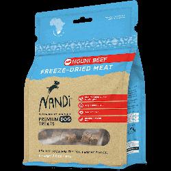 Nandi 南非原野天然凍乾牛肉狗零食 57g