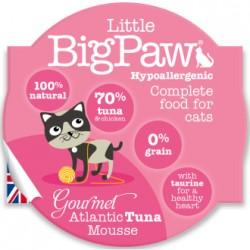 Little Big Paw 傳統大西洋吞拿魚貓餐盒 mousse 85g
