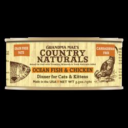 Country Naturals 無穀物深海魚雞肉醬煮配方 貓罐頭 5.5oz