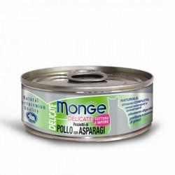 Monge 鮮味雞肉系列 - 雞肉配蘆筍 80g
