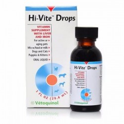Vetoquinol 法國威龍 VET Hi-Vite 高維他命精華營養滴 1OZ