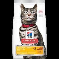 Hill's 希爾思 成貓泌尿道健康和去毛球 乾糧 3.5磅
