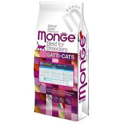 Monge 天然貓糧 低穀物 成貓 野生鯷魚肉 配方 10kg (22lb)