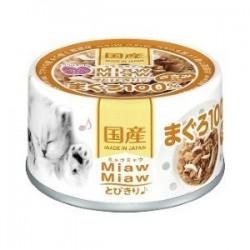 Aixia Miaw Miaw 吞拿魚加雞肉缶頭 (MT-2) 60g
