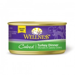 Wellness粒粒火雞罐頭 3oz (85g) Cubed Turkey Dinner