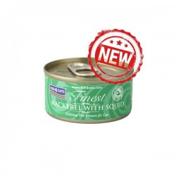 Fish4Cats 鯖魚塊+魷魚 貓罐頭 70g