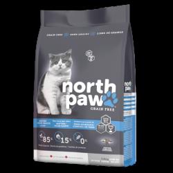 North Paw 無穀物 雞肉+海魚 老貓/ 室內貓糧 2.25kg x2包優惠