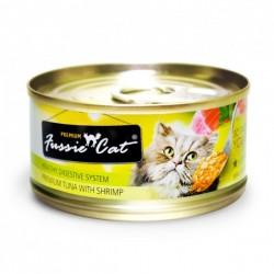 Fussie Cat 吞拿魚+蝦肉 罐頭 80g