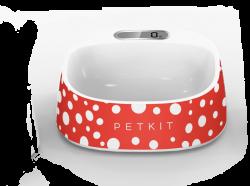 Petkit Fresh Metal 智能智能抗菌碗 - 紅色圓點