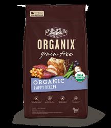 ORGANIX 無穀物犬糧 - 有機幼犬配方 10lb