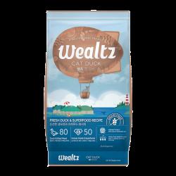 Wealtz 全年齡貓配方 - 鮮鴨肉、超級食物食譜 (杏色) 2.1Kg