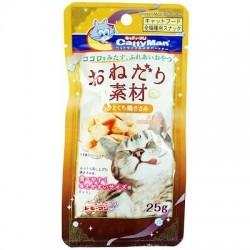 Cattyman 雞胸肉角切貓小食 25g 到期日: 08/2021