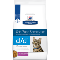 Hill's d/d (鴨味) 皮膚/食物敏感 獸醫配方乾貓糧 3.5磅*