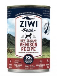 ZiwiPeak 鹿肉 配方狗罐裝 390g x12罐優惠