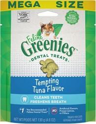 購物滿$500, 可以以$65換購<<Greenies 貓貓潔齒餅 吞拿魚味 4.6oz>>