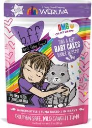 b.f.f 吞拿魚+牛肉 袋裝系列 85g (Baby Cakes)