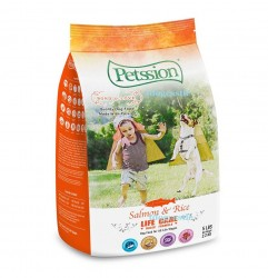 PETSSION LIFE CARE 比心三文魚糙米配方 40lb
