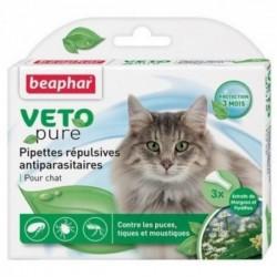 Beaphar VETO Nature 自然滴劑 (1盒3支 - 成貓) x2盒