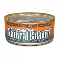 NaturalBalance 雞肉加肝配方貓罐罐 Natural Balance (156g)