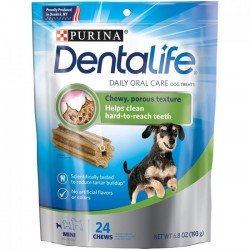 PURINA Dentalife Dog Treats 迷你犬用潔齒棒 2.05oz