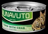 Nunavuto 吞拿魚蟹肉貓罐 80g