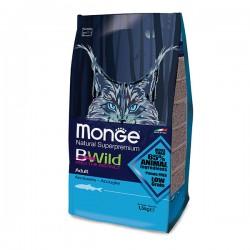 Monge 天然貓糧 低穀物 成貓 野生鯷魚肉 配方 1.5kg x3包