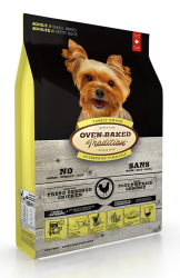 Oven Baked北美去骨走地雞配方成犬糧12.5磅 (細粒)