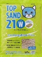 Top Sand 21w 有機 雙孔 通心豆腐貓砂 10L