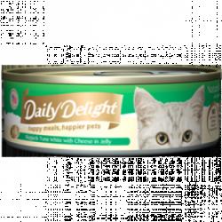 Daily Delight (DD-52) 白鰹吞拿魚+芝士 80g x24罐