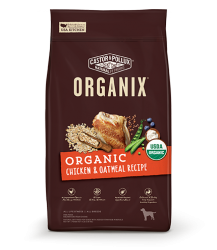 ORGANIX 穀物全犬糧 – 有機雞肉燕麥片配方 18lb